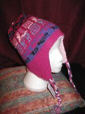 CHILDREN'S REVERSIBLE  Hats from Peru -  Ski Hat / Hiking Hat / Beanie