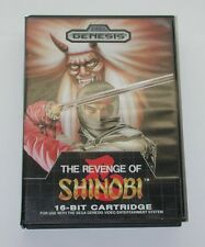 The Revenge of Shinobi Sega Genesis Video Game Complete R6456