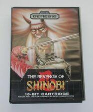 The Revenge of Shinobi Sega Genesis Video Game Complete R6456