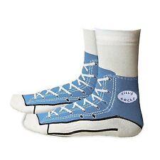 Silly Sock Sneaker Blue UK 5-11 EU 37-45 Bg1031