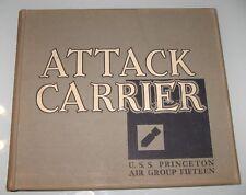 USS Princeton CVA 37 1953 Attack Carrier Air Group CAG 15  NAVY CRUISE BOOK