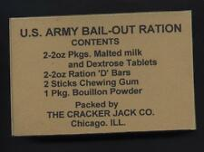 SET OF 2 WW2 US AIRBORNE EMERGENCY BAILOUT RATION BOXES (REPRO)