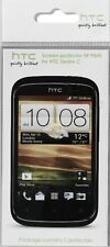 2 X GENUINE HTC DESIRE C SCREEN PROTECTOR SP P840 - NEW AND SEALED