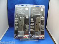 TWO Kimber 1911 Tac  Magazine 45 ACP Stainless Ultra Compact 7 RD 45 AUTO clip