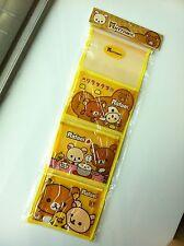 San-X Rilakkuma Relax Bear PVC Storage bag - Display for Tote stationery on wall