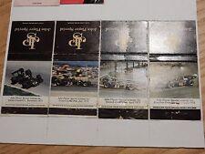 GRAND PRIX   1970s matchbook labels on A4 SHEET