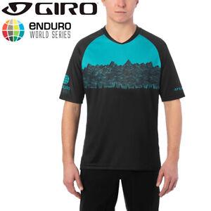 Giro Roust MTB Mens Jersey - Teal / Black - Enduro World Series Edition