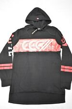 $48 NWT NEW Mens Ecko Unltd Logo Print Hoodie T-Shirt Tee Black Urban Sz L N450