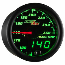 MaxTow 52mm Double Vision Transmission Temp Gauge - MT-DV12