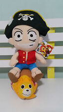 BANPRESTO ONE PIECE PLUSH TOY PIRATE WITH TAGS! 36CM MANGA ANIME!