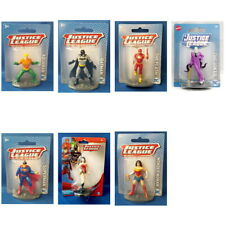 Justice League DC Comics Mini Figurine Toy Cake Topper - You Choose Character
