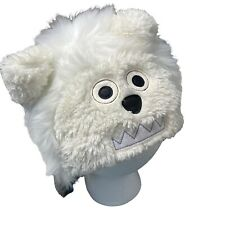 Baby Gap Fuzzy Snow Monster Winter Fitted Hat Size XS/S