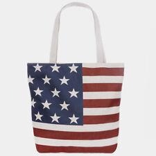AMERICAN FLAG PRINT TOTE BAG