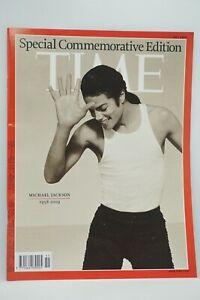 TIME MAGAZINE - MICHAEL JACKSON (1958 - 2009).  Special Commemorative Edition.