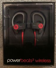 Caja Abierta Powerbeats 2 Bluetooth Inalámbrico Auriculares Negros (B0516)