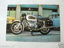 BMW R75/5 750 CC BOXER TWIN MOTORCYCLE MOTORRAD VINTAGE ORIGINAL POSTCARD