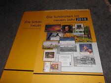 Briefmarken Deutsche Post Briefmarkenkalender 2010