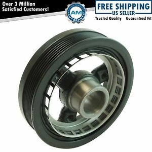 Harmonic Balancer & Belt Drive Pulley for Chevy Oldsmobile Buick Pontiac