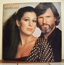 "33T Kris KRISTOFFERSON & Rita COOLIDGE Disque LP 12"" NATURAL ACT - AM 4690 EX"