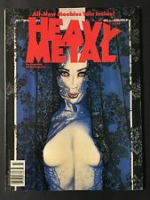 Heavy Metal Magazine March 1990  All New Moebius Tale