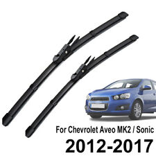 """XUKEY Front Windshield Wiper Blades Set For Chevrolet Aveo Sonic 12-2020 26""""15"""""""