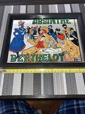 "Absinthe Bar Mirror "" framed!�"
