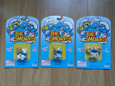 LOT 3 THE SMURFS BABY BEBE SCHTROUMPF 1995 Irwin 20825 NEUF SCELLE