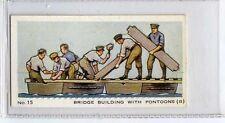 (Ja7345-100) mitchell,a model army,bridge building with pontoons(b),1932#15