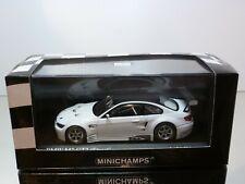 MINICHAMPS BMW M3 GT2 STREET 2009 - WHITE 1:43 - EXCELLENT CONDITION IN BOX