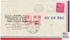 TRANSATLANTIC DIXIE CLIPPER-Sc#806-JUNE/28/1939-FIRST PASSENGER &