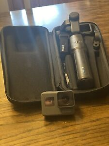 GoPro Hero 5 with Karma Grip, & Carry Case used 2 times only. Slightly used