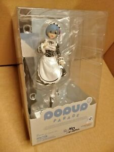 OFFICIAL POP UP PARADE RE:ZERO REM ICE SEASON VER. COMPLETE FIGURE - NEW SEALED