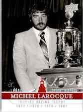 2008-09 Upper Deck Montreal Canadiens Centennial Set Michel LaRocque #267