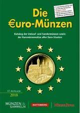 Die Euro-Münzen 17. Auflage 2018, 910 Seiten, 4farbig mit Handelspreisen in EURO