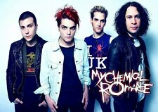 My Chemical Romance  (5) Gerard Way Metal Hard Rock Band Classic Poster