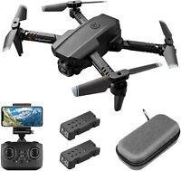 Foldable RC Drone 4K HD Wide Angle Camera WiFi FPV Drone 1080P Camera Quadcopter