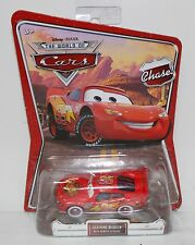 LIGHTNING MCQUEEN WITH BUMPER STICKERS Disney Pixar World Cars Chase N8471 NEW