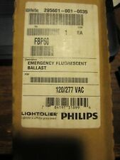 FBP60 by Philips Lightolier Emergency flourescent ballast 17W-215W single/bipin