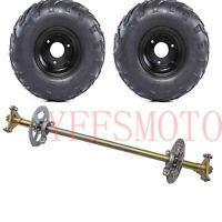 "Rear Axle Brake Disc Hub +145/70-6"" wheel rim tire F Go Kart Cart Quad ATV Buggy"