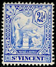 ST. VINCENT SG97, 2½d blue, LH MINT. Cat £42.