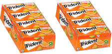 Trident Tropical Twist Sugar Free Gum with Xylitol, 14 cnt -Pack of 12 (2 pack)