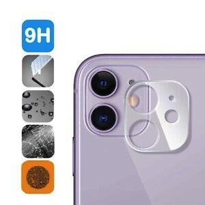 Apple iPhone 11 6,1 Schutzglas für Kamera Linse Panzerfolie aus Echtglas Folie