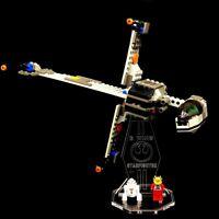 Acryl Display Stand Acrylglas Standfuss für LEGO 7180 B-Wing