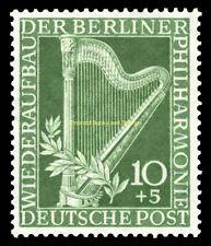 EBS West Berlin 1950 Berlin Philharmonic Michel 72 MNH**