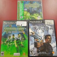 Syphon Filter Omega Strain Syphon Filter 1 And Dark Mirror Ps1 Ps2