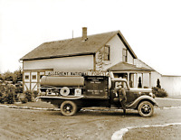"1935 US Forest Service Fire Truck, PA Vintage Old Photo 8.5"" x 11"" Reprint"