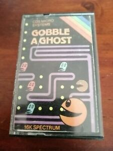 Gobble A Ghost - ZX Spectrum 16K/48K/128K  CDS MicroSystems 1982 Tested/Working