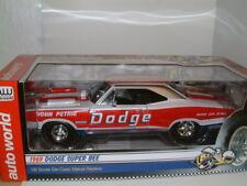 """1/18 1969 DODGE Super Ape """"John Petrie"""" Superstock trascina auto, Autoworld."""