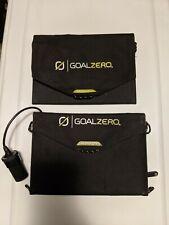 2 Goal Zero Nomad 7 Solar Panels