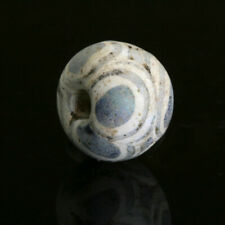 Ancient glass beads: stratified eye bead, 4 century BCE, Persia